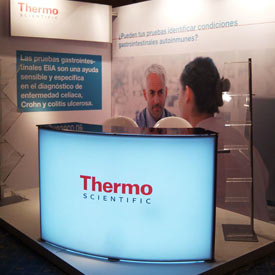 Stand de feria para Thermo Fisher