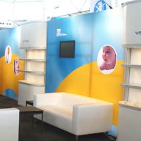 Stand de feria para Optimal Care